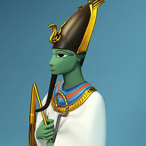 Modern Model of Osiris Photo from 3drivers.com