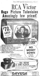 50s tv ad